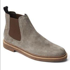 CLARK'S Men's Suede Grey Chelsea Boot Sz US 10